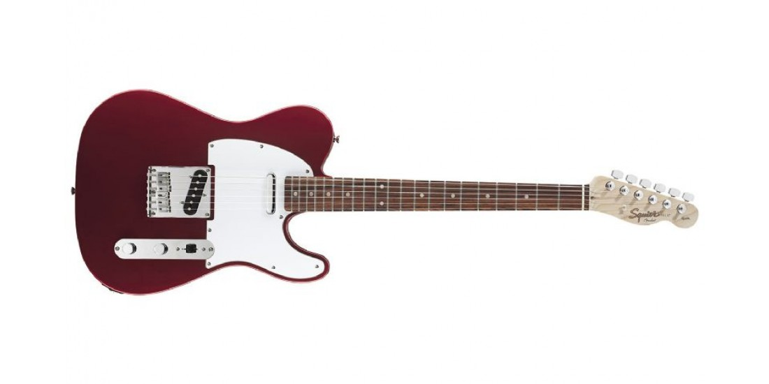 Fender Squier Affinity Series Telecaster Rosewood Metallic Red