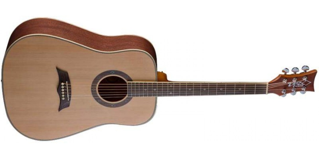 DBZ DC20S-SNA Acoustic Guitar Spruce Top Natural Finish