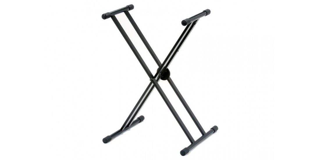 Cyclone Keyboard Stand Double X Brace Design