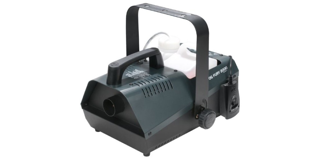 ADJ Products FOG FURY 2000 Fog Machine with Wired Remote