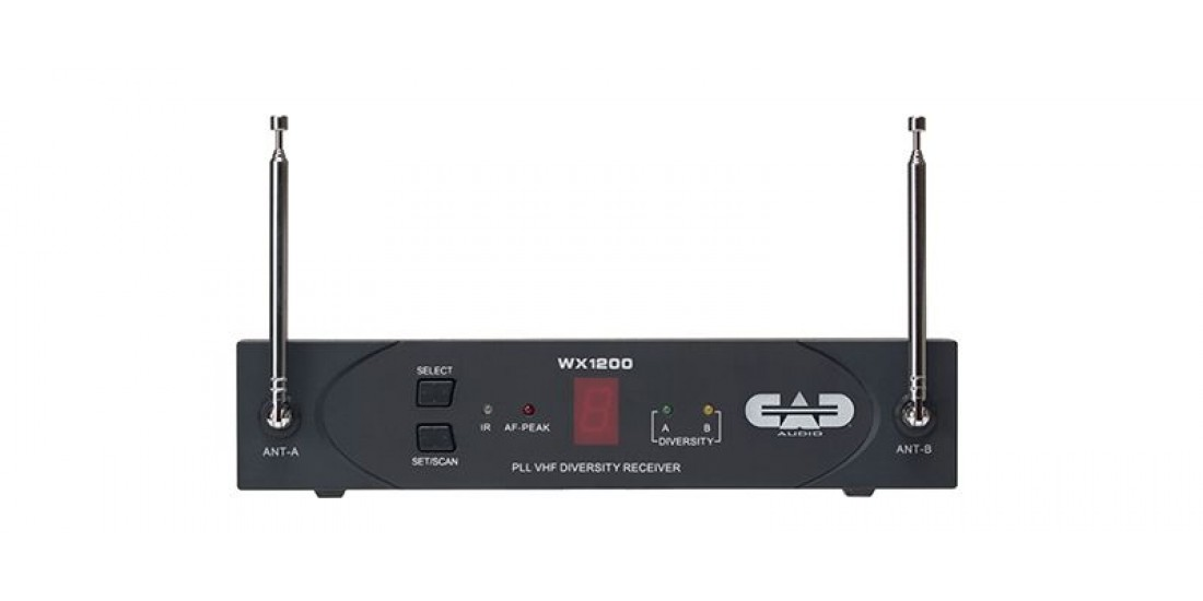 CAD Audio WX1200 VHF Wireless Handheld Microphone System