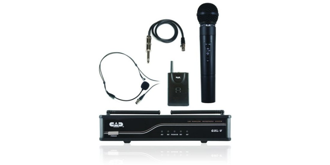 CAD Audio GXLVHBH VHF Wireless Combo System