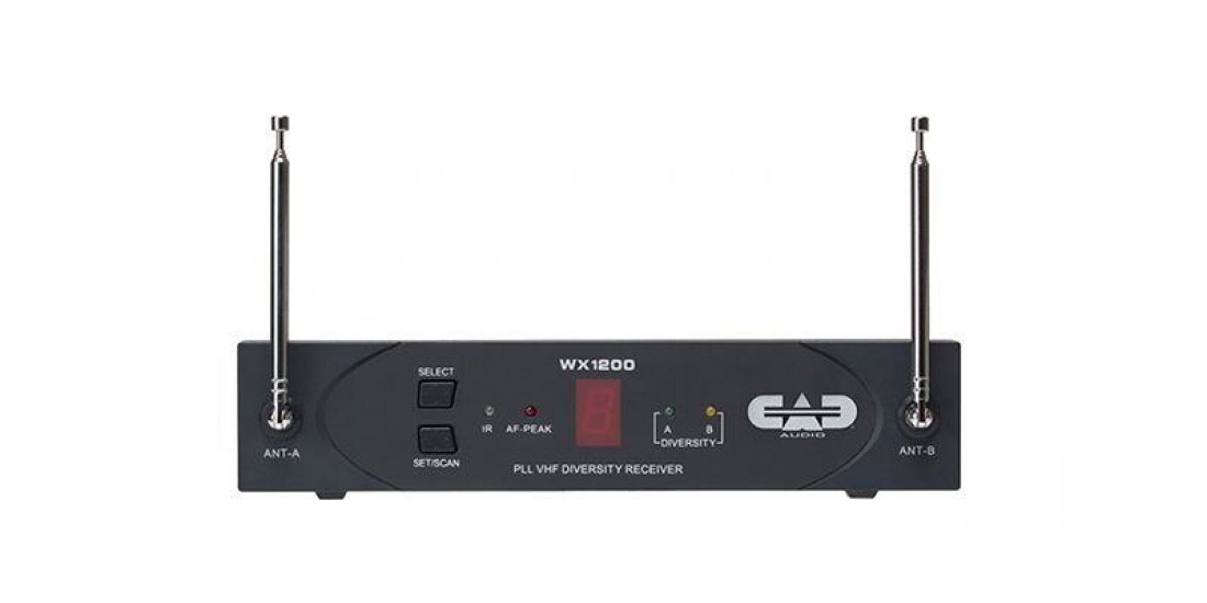 CAD Audio RX1200 Reciever for WX1200 Series Wireless