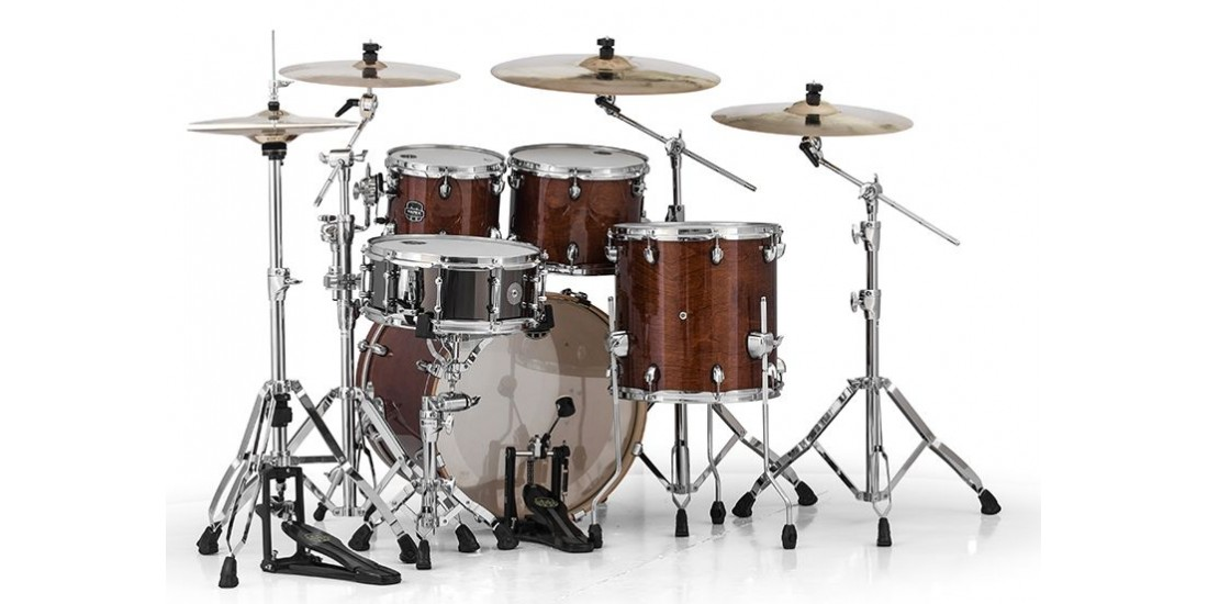 Mapex  AR504SWT  5  Piece  Armory  Fusion  Shell  Pack  Trans  Walnut