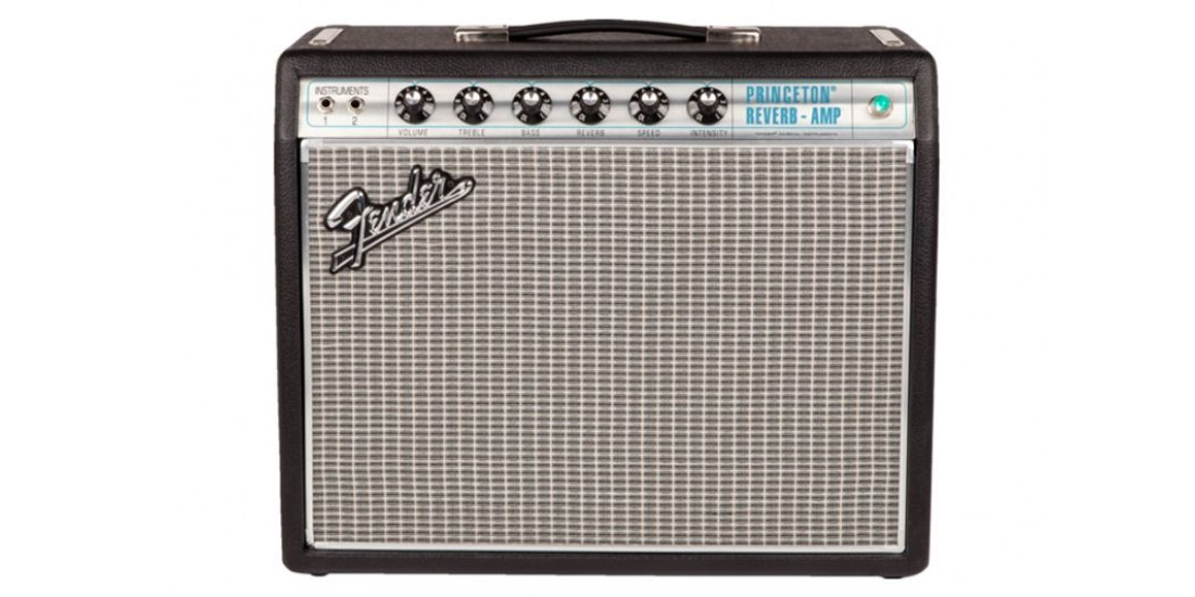 Fender 68 Custom Princeton Reverb Electric Guitar Amplifier
