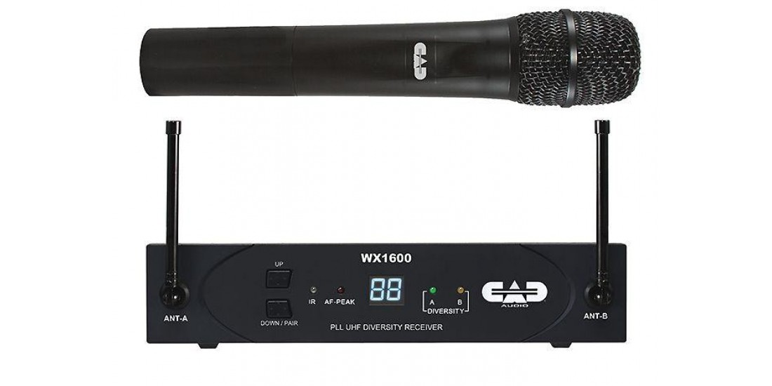 CAD Audio WX1600 UHF Wireless Handheld Mic System