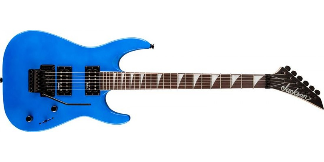 Jackson JS32 Dinky Electric Guitar Satin Bright Blue Finish -Open Box