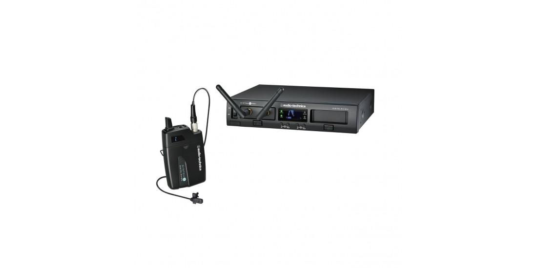 Audio  Technica  System  10  Pro  Digital  Wireless  Receiver  and  Transmitter  System  with  MT830cW  Lavalier  Microphone