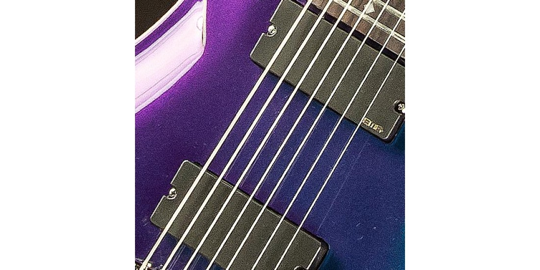 DBZ  Diamond  BARST7-GXP  Barchetta  7  String  Electric  Guitar  Galaxy  Purple