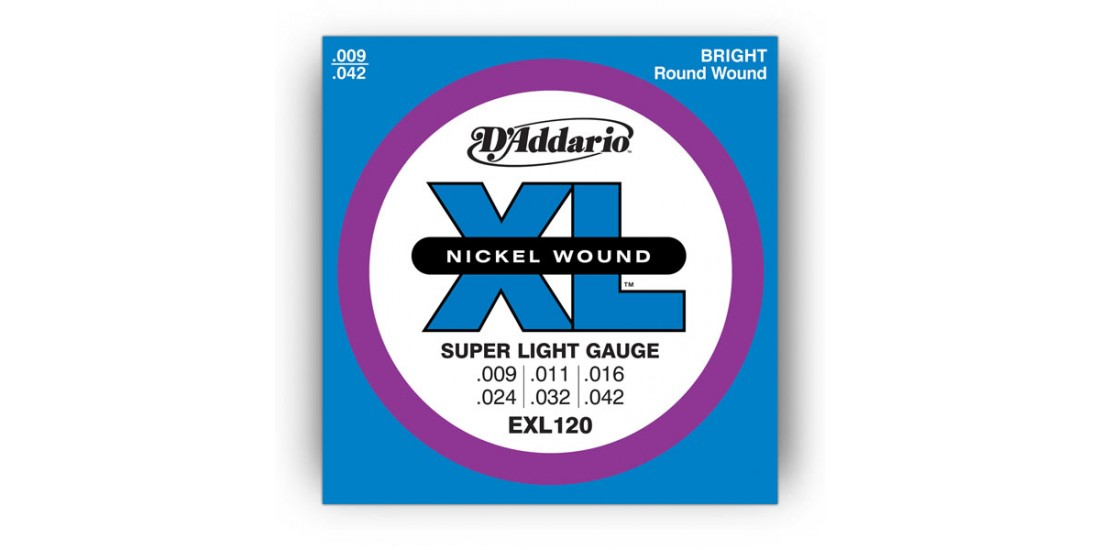 D Addario EXL120 Electric Guitar Strings Xl Series (.009-.042)