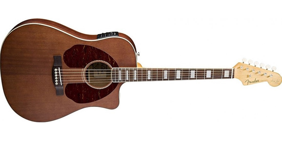 Fender Jimmy Dale Signature Kingman SCE Cutaway Electric Acoustic Guitar
