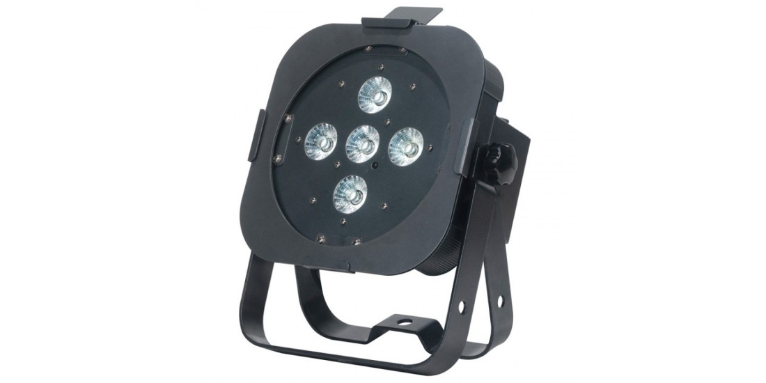 American  DJ  Flat  Par  TW5  3  in  1  LED  WW  CW  and  Amber