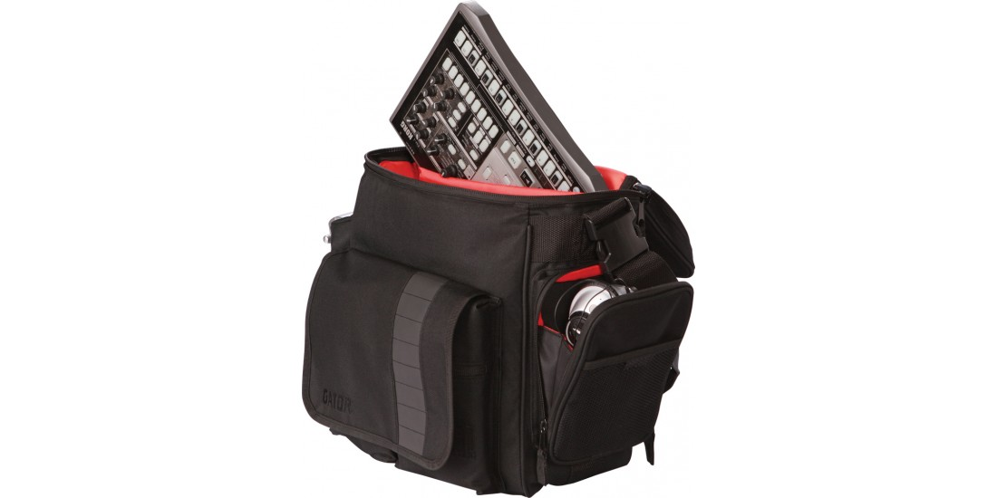 DJ Bag for 35 LPs and Serato-Style Interface