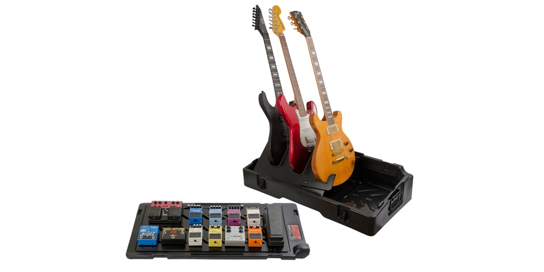 Updated Gig-Box Pedal Board/Guitar Stand Case