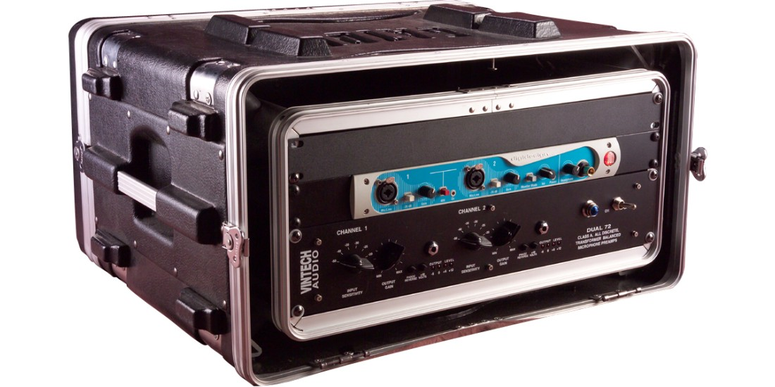 4U Shock Audio Rack