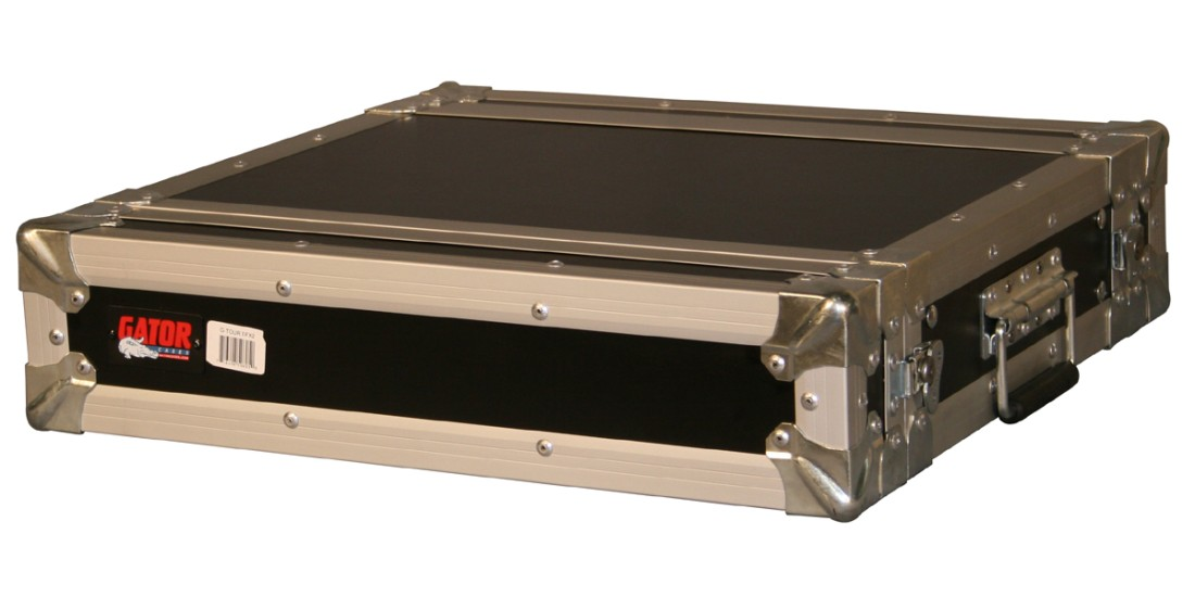 2U Shallow Audio Road Rack Case