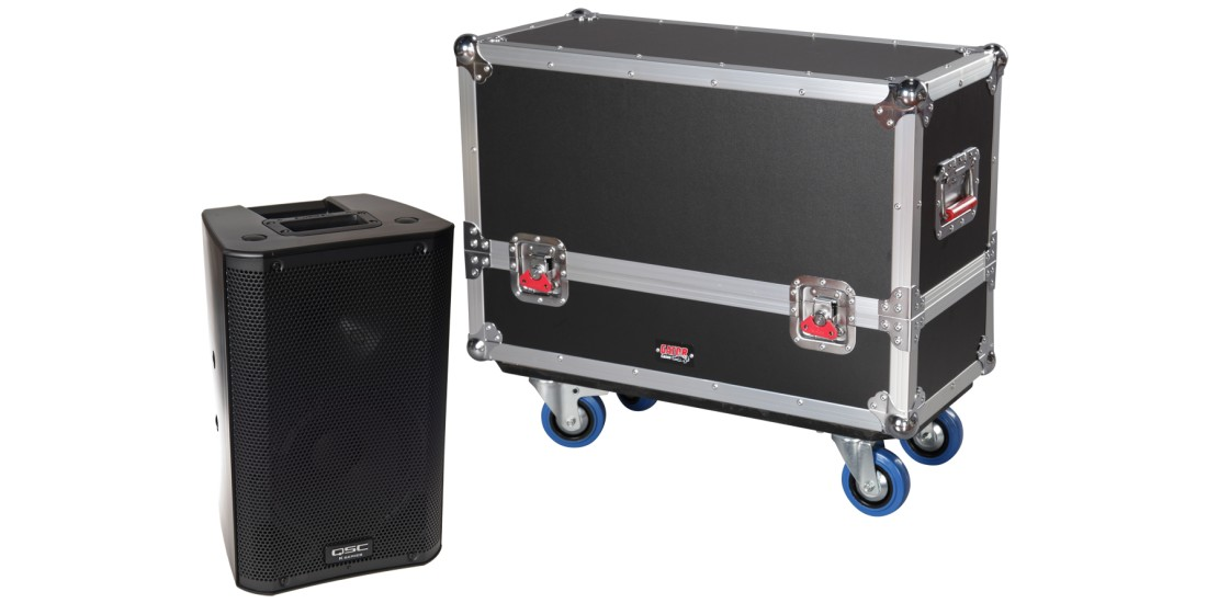 Tour Style Transporter for (2) K8 speakers