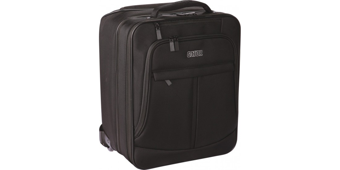 Gator GAV-LTOFFICE-W Checkpoint Friendly Laptop/Projector Bag with Wheels and Pull Handle