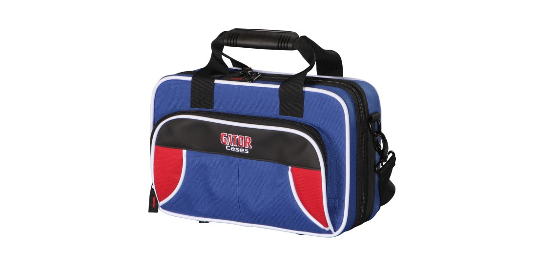 Lightweight Clarinet Case Red and Blue