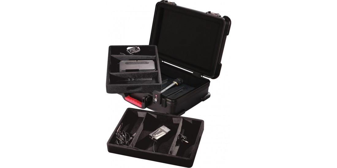 ATA  Molded  Case  for  7  Wireless  Mics  -  TSA  Latches