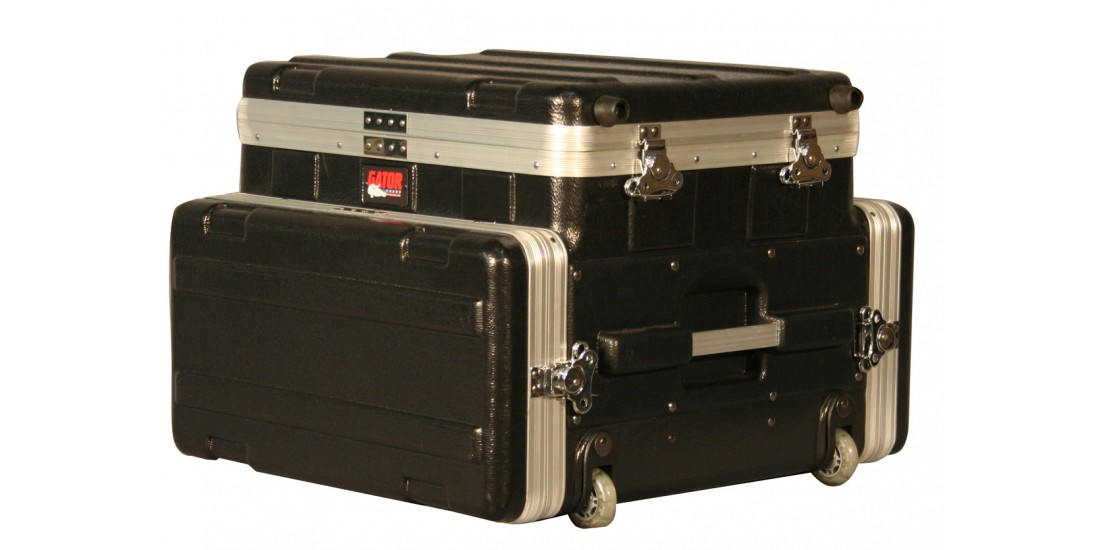 ATA  Laptop  or  Mixer  Case  Over  4U  Audio  Rack