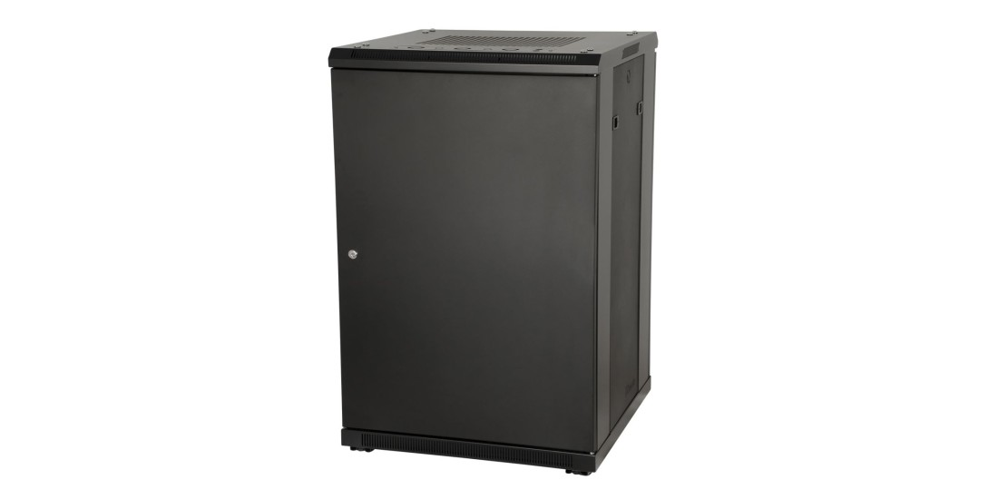 18U  23  Deep  Rack  w/Steel  Door