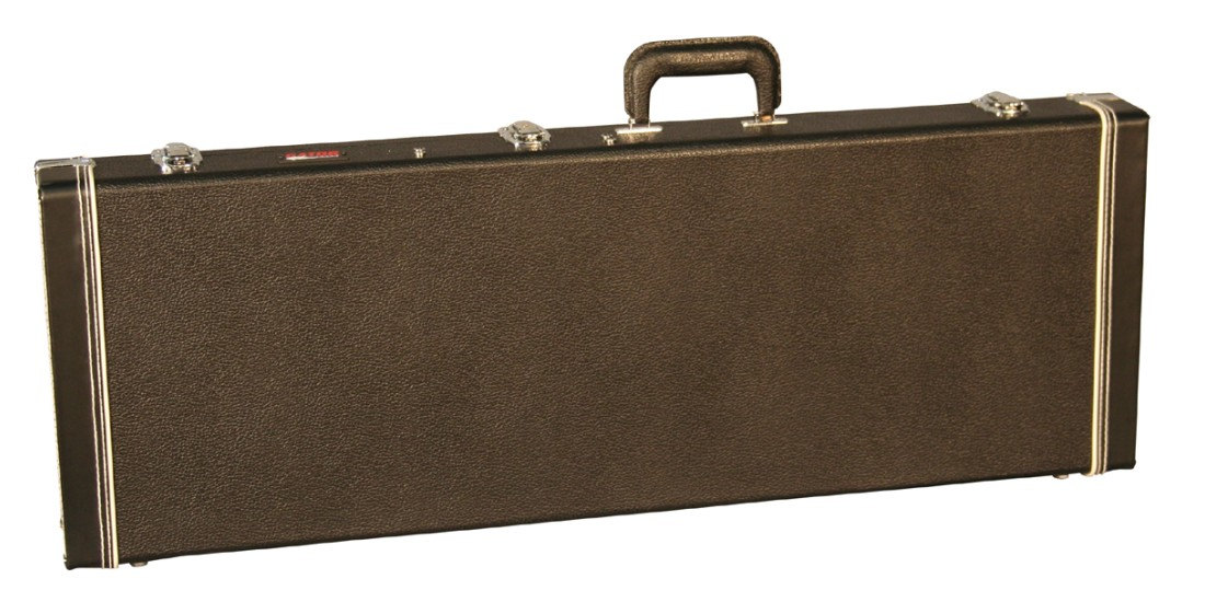 Electric  Guitar  Deluxe  Wood  Case