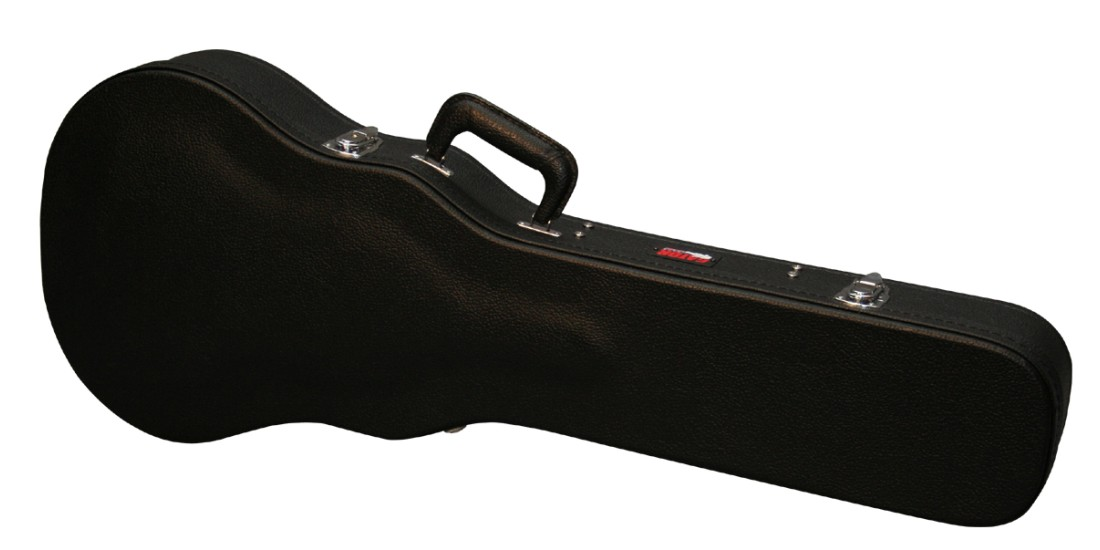 Gator  GWE-LPS-BLK  Les  Paul  Style  Wood  Guitar  Case