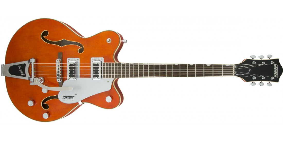 Demo - Gretsch G5422T Electromatic Electric Guitar Orange Stain Bigsby
