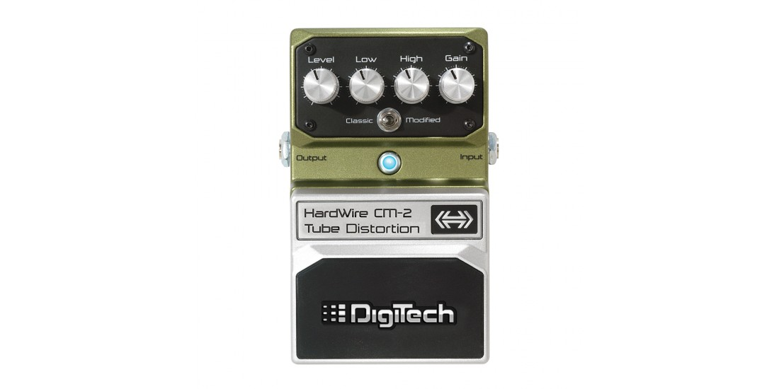 Digitech Hardwire CM-2 Tube Overdrive Distortion Pedal