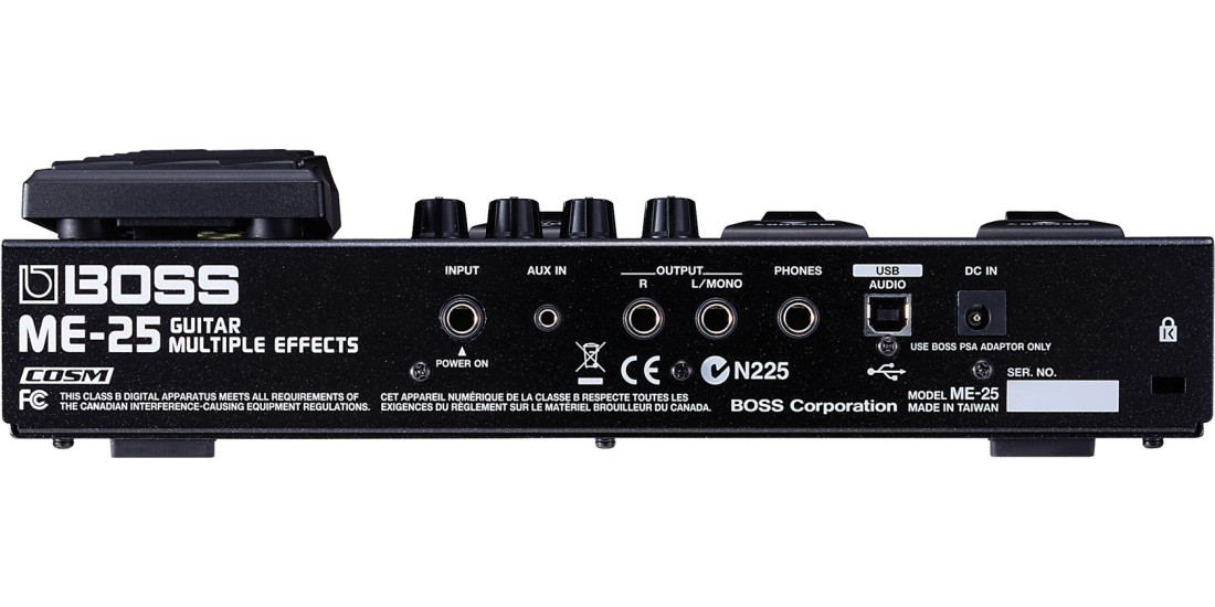 Boss ME-25 Compact Floor Guitar Multi-Effects Pedal