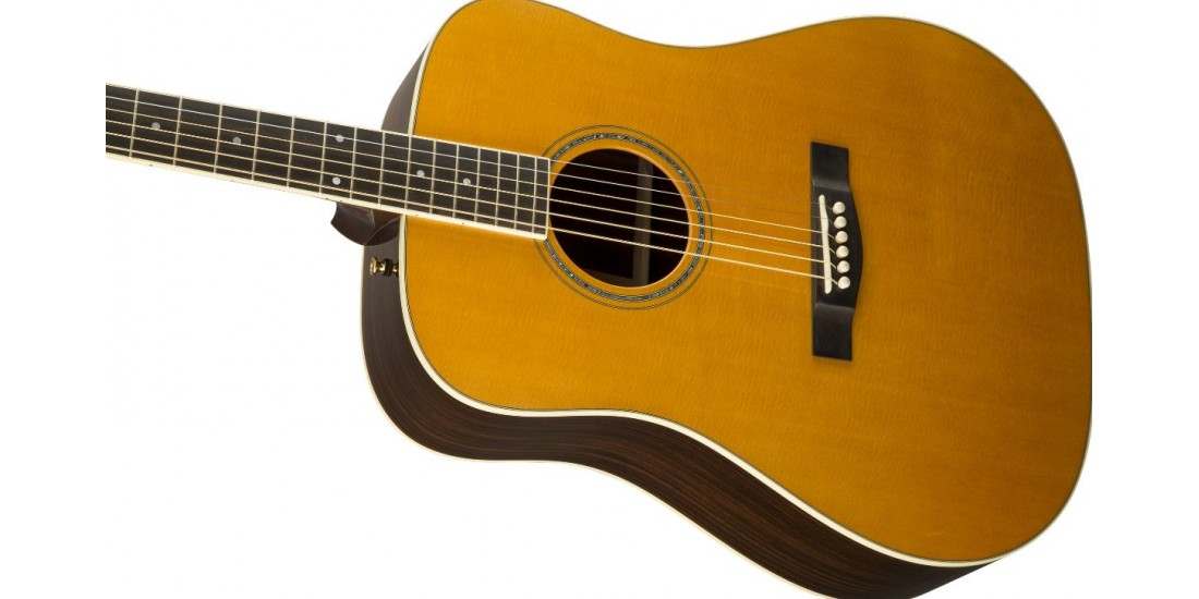 Fender USA Custom Shop Pro TPD-2 All Solid Dreadnought Acoustic Guitar