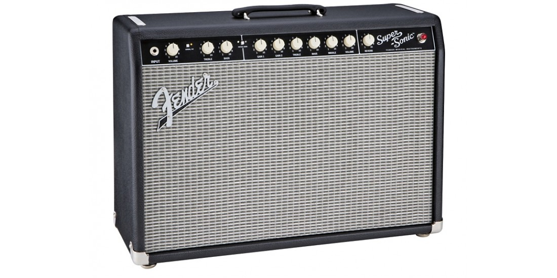 Fender Super Sonic 22 All Tube Electric Guitar Amp 22 Watts