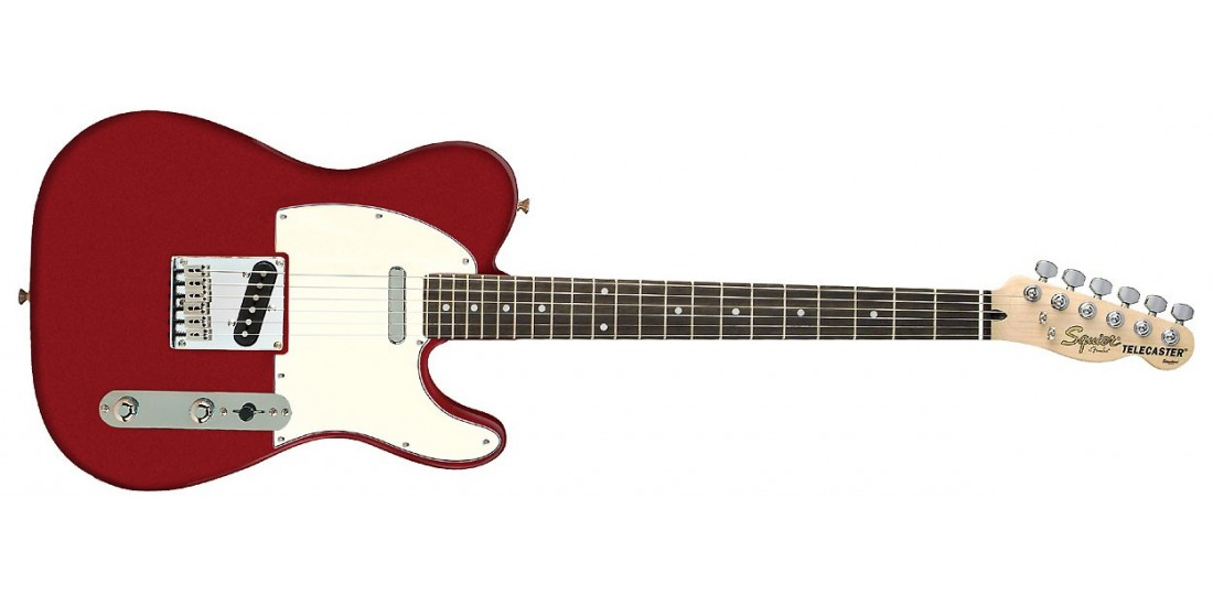 Fender Squier Standard Telecaster Rosewood Fretboard Candy Apple Red