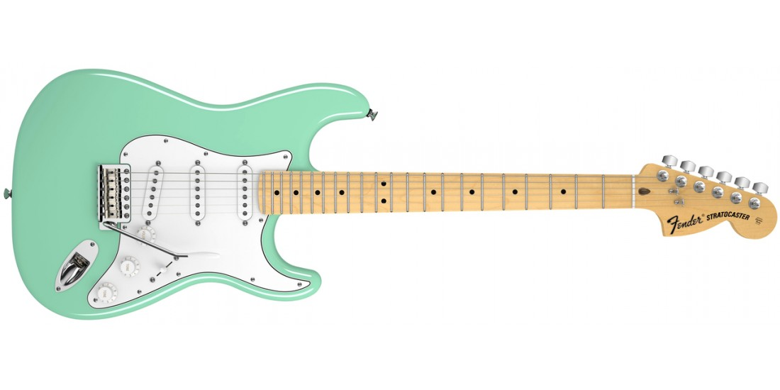 Fender American Special Stratocaster Electric Guitar Surf Green