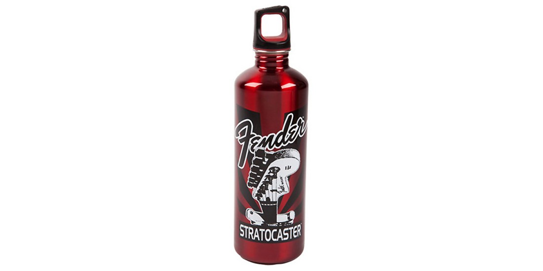 Fender Stratocaster Water Bottle