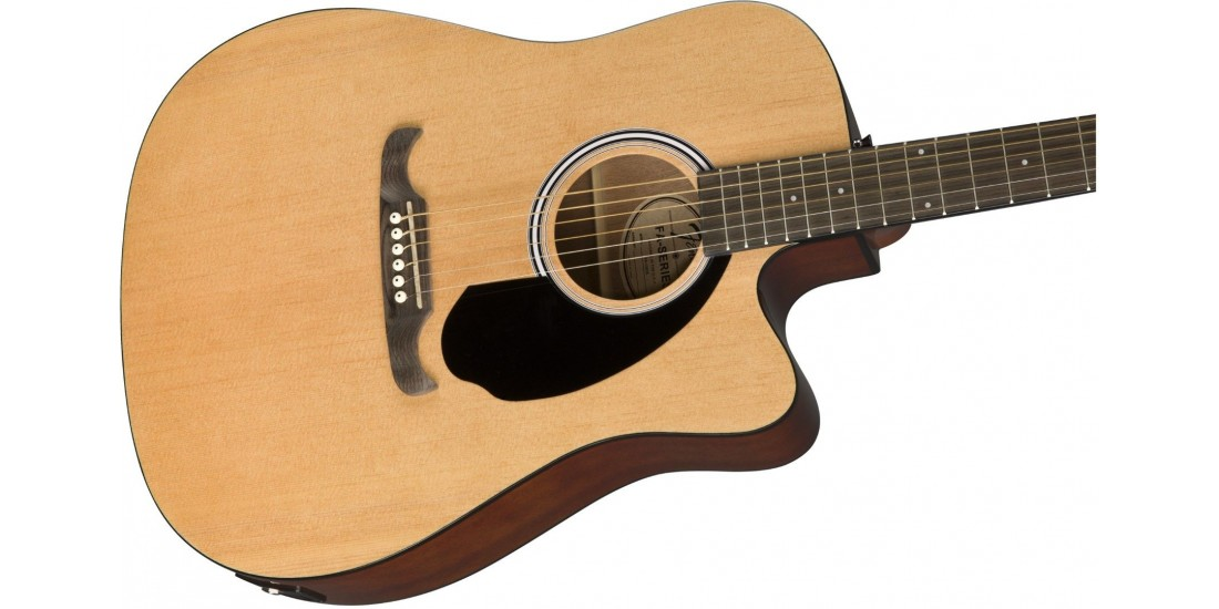 Fender FA-125CE Acoustic Electric Dreadnaught with Walnut Fretboard