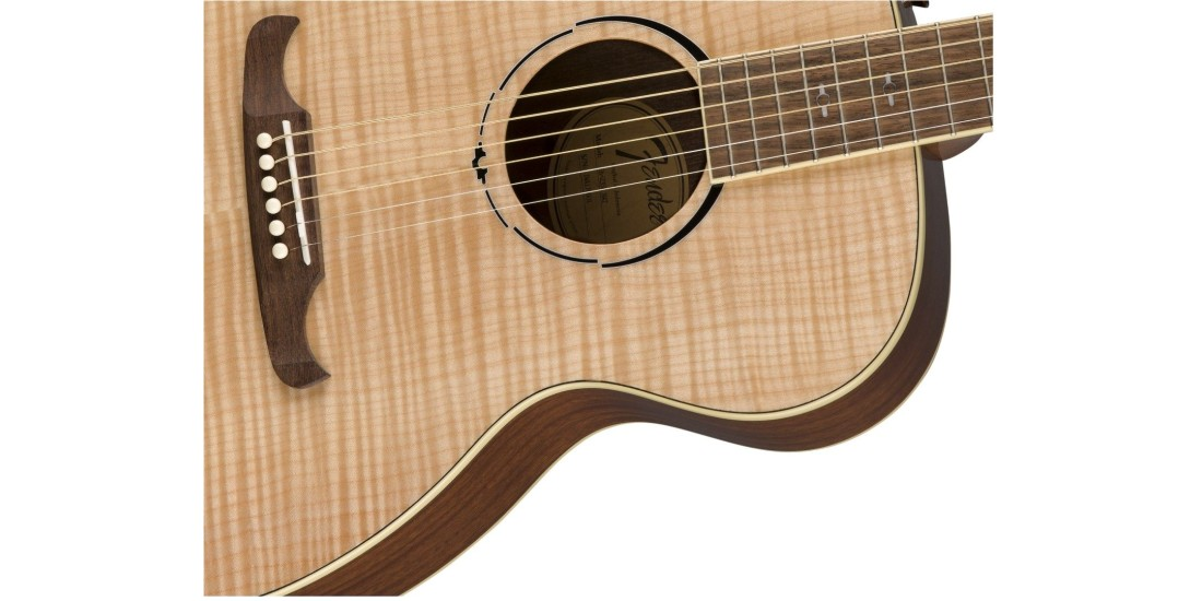 Fender FA-235e Concert in Natural With Rosewood Freatboard