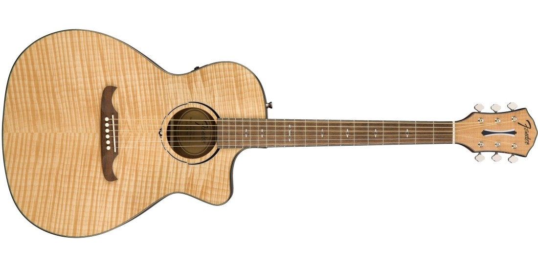Fender FA-345CE Auditorium in Natural with Rosewood Fretboard