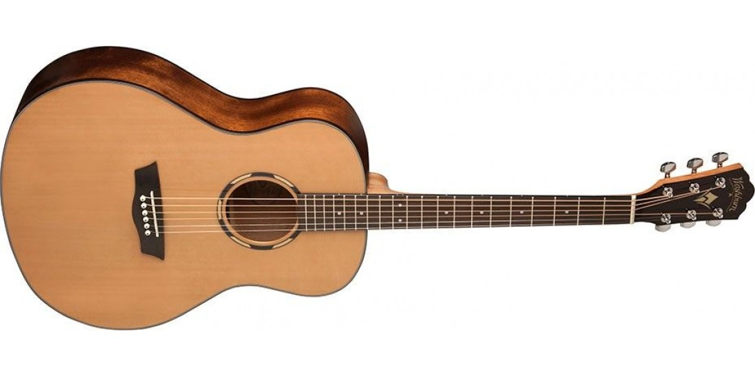 Open Box - Washburn WLO11S-O Woodline Orchestra Size Solid Cedar top
