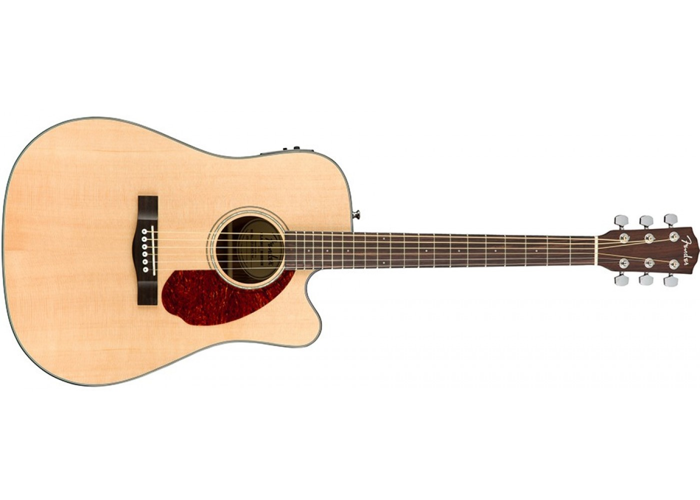 fender cd140sce acoustic electric guitar natural finish with case. Black Bedroom Furniture Sets. Home Design Ideas