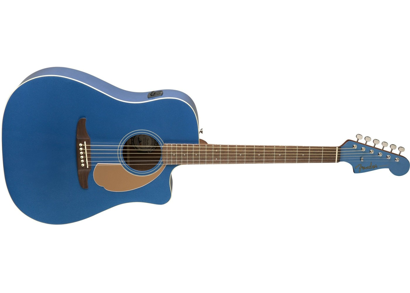 fender redondo player electric acoustic belmont blue