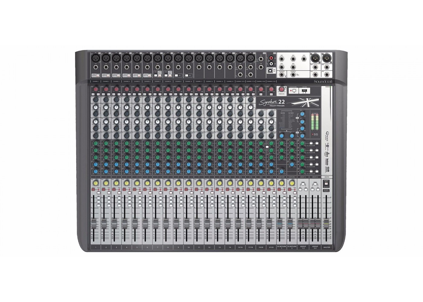 soundcraft signature 22 mtk mixing console built in lexicon effects. Black Bedroom Furniture Sets. Home Design Ideas
