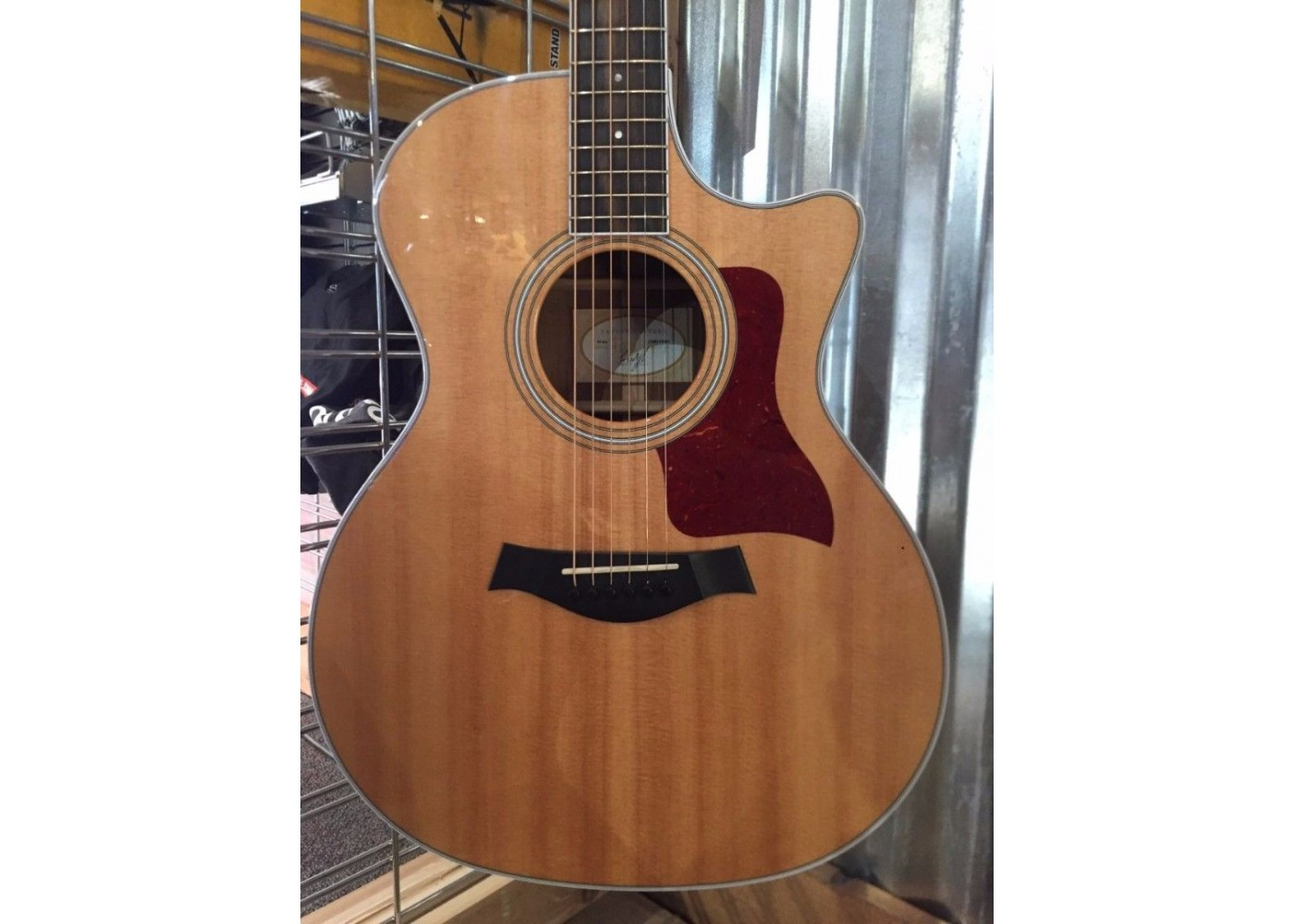 used taylor 414ce grand auditorium electric acoustic guitar. Black Bedroom Furniture Sets. Home Design Ideas
