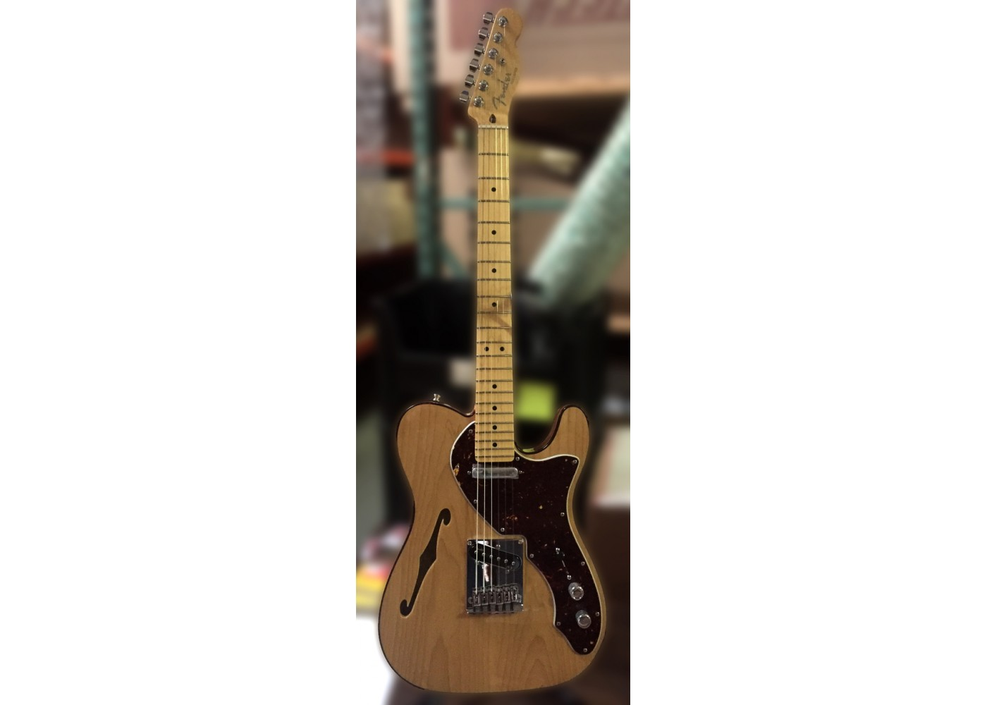 world music supply american deluxe telecaster thinline maple fingerboard 3color sunburst. Black Bedroom Furniture Sets. Home Design Ideas