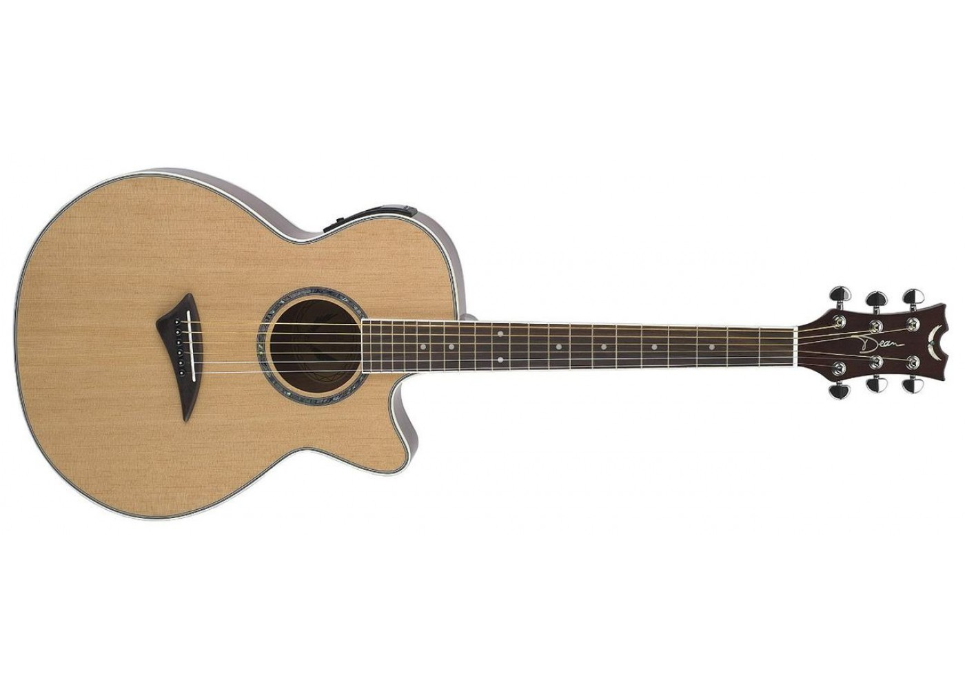 dean pegn performer spruce top mahogany back and sides acoustic electric guitar gloss natural. Black Bedroom Furniture Sets. Home Design Ideas