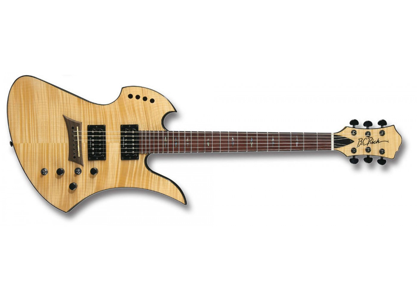 bc rich mgpoldlxn mockingbird polarity deluxe electric guitar gloss natural with duncan designed. Black Bedroom Furniture Sets. Home Design Ideas