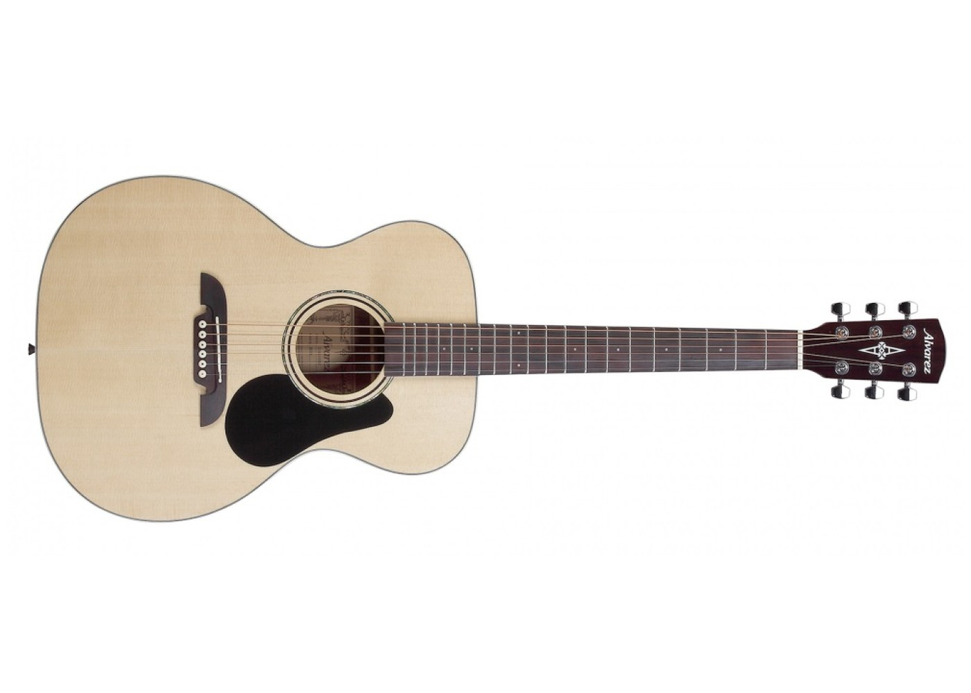 alvarez rf26 acoustic guitar natural finish with deluxe gigbag. Black Bedroom Furniture Sets. Home Design Ideas