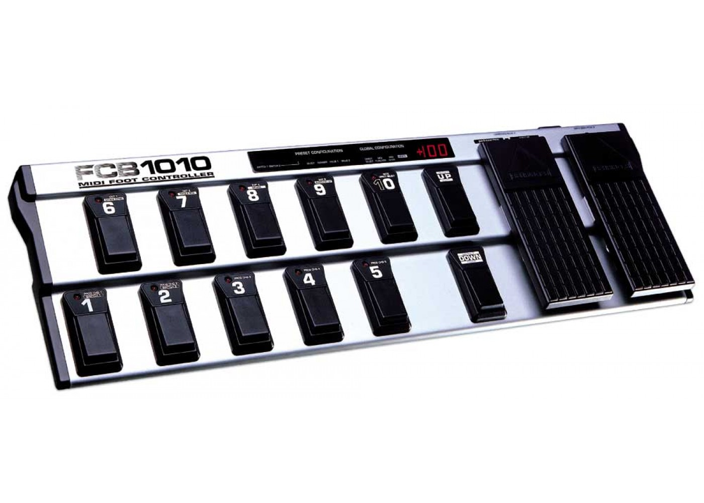 behringer guitar effects midi foot controller two expression pedals. Black Bedroom Furniture Sets. Home Design Ideas