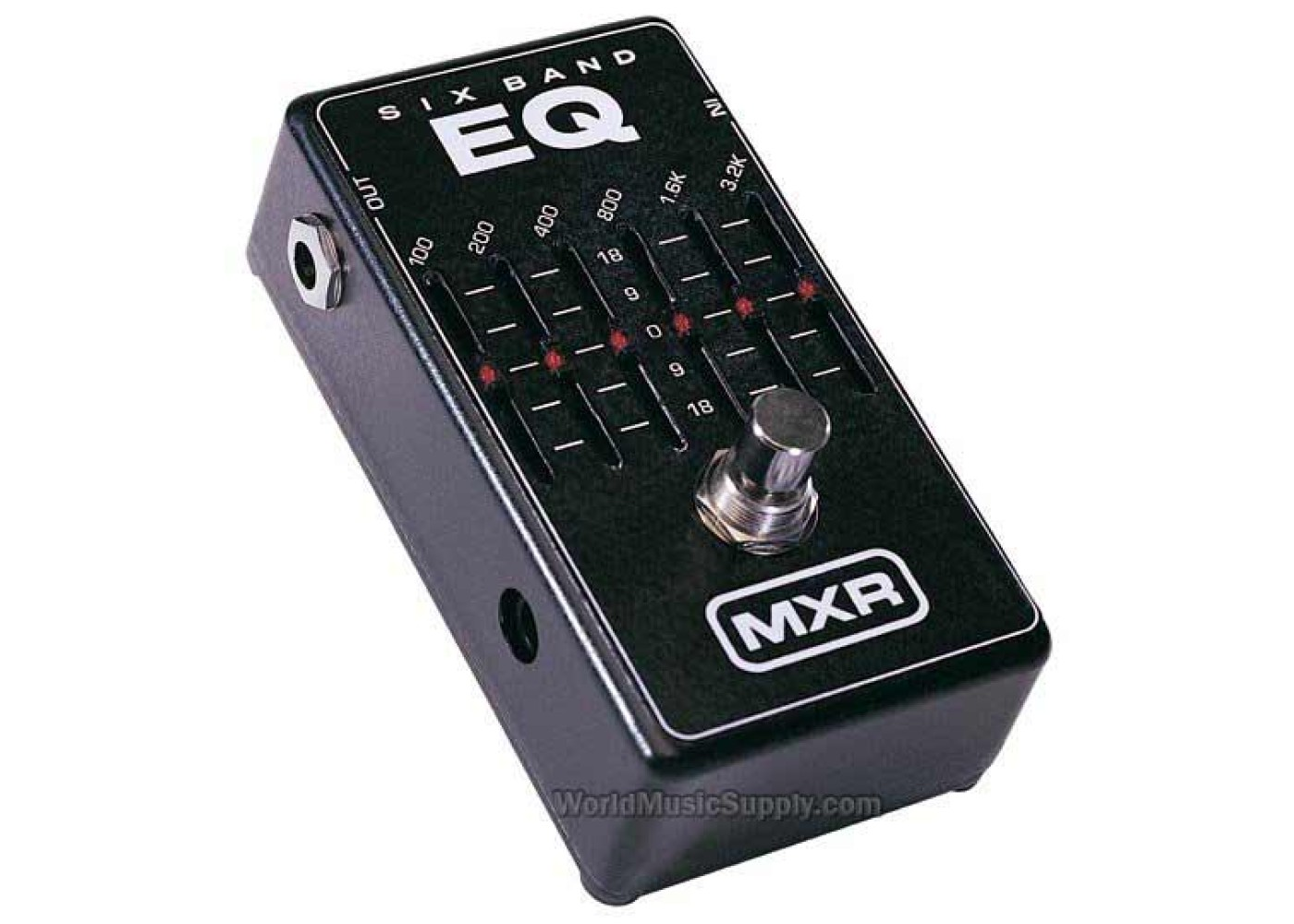 mxr 6 band guitar graphic eq equalizer pedal. Black Bedroom Furniture Sets. Home Design Ideas
